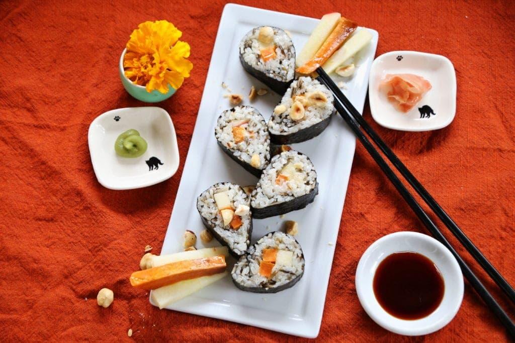 Thanksgiving Vegan Sushi