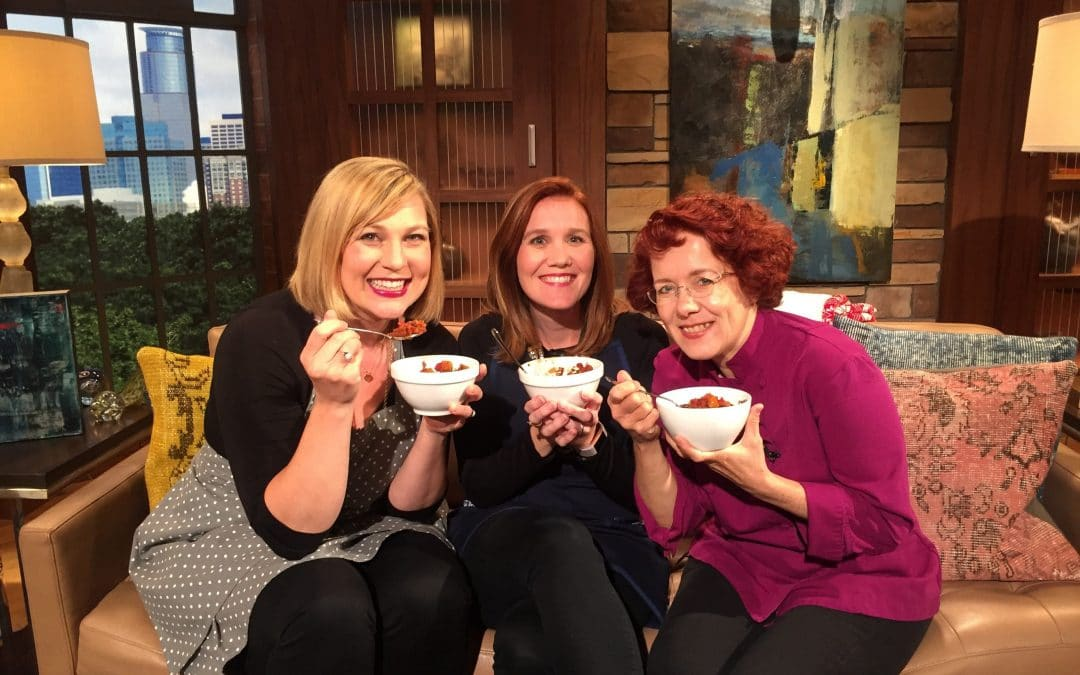 Watch Me Make Chili and Talk Grace and Frankie on Twin Cities Live!