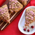 White Whole Wheat Flour in Cranberry Sweet Potato Scones