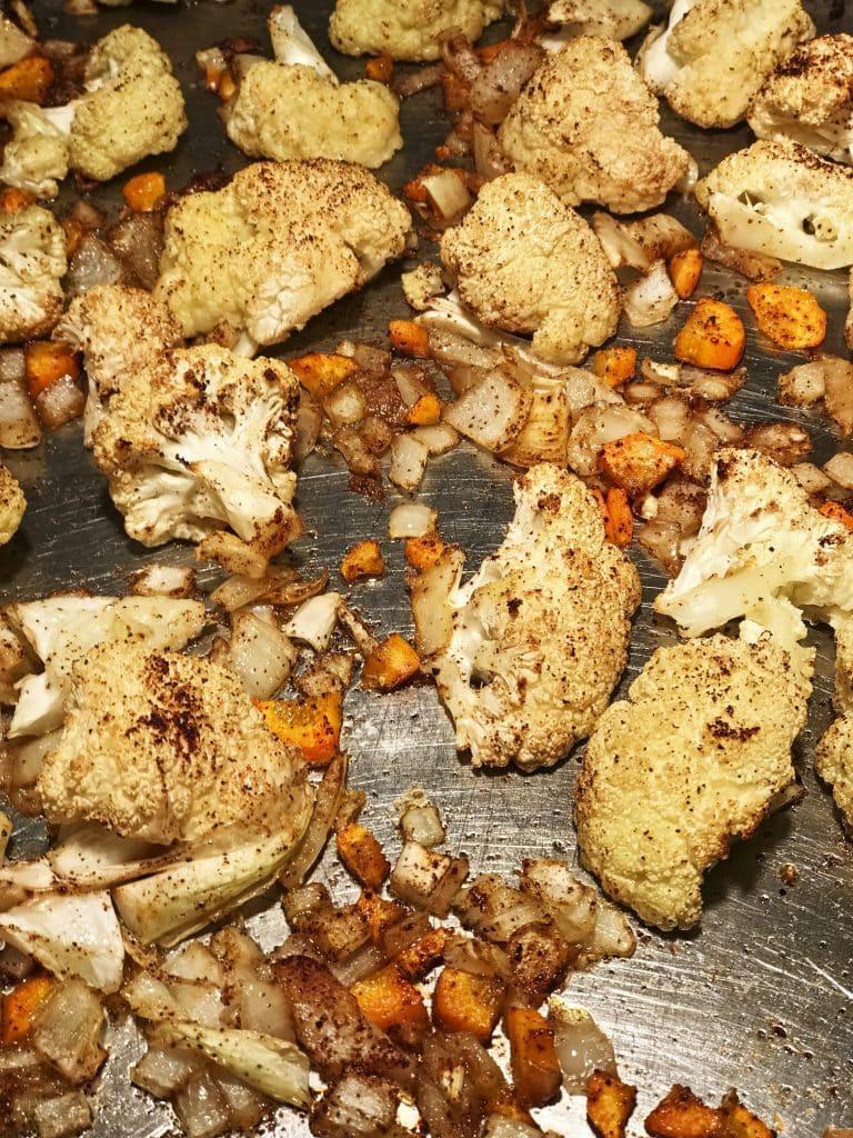 Chipotle Roasted Cauliflower