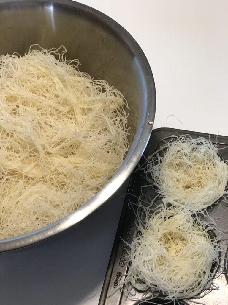 Kataifi Pastry Nests