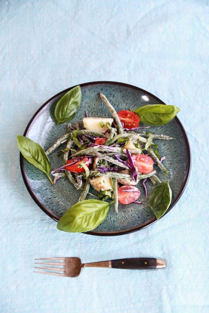 New Potato and Green Bean Salad with Basil
