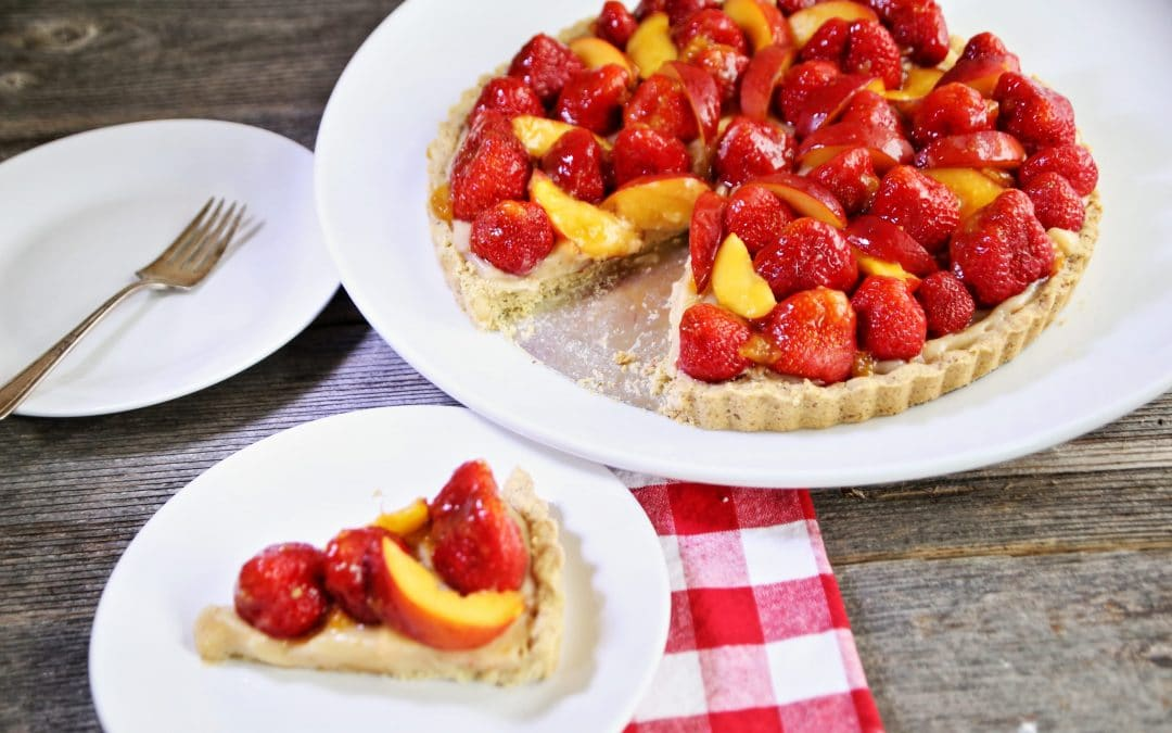 Buy Local Strawberries and Make a Fresh Strawberry Tart, Feed Your Soul