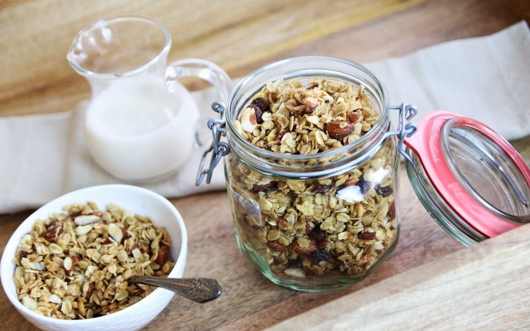 Make Granola in the Summertime-With the Slow Cooker!