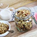 Maple Almond Granola in the Slow Cooker