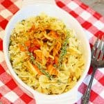 Farfalle with Roasted Tomatoes and Pistachios