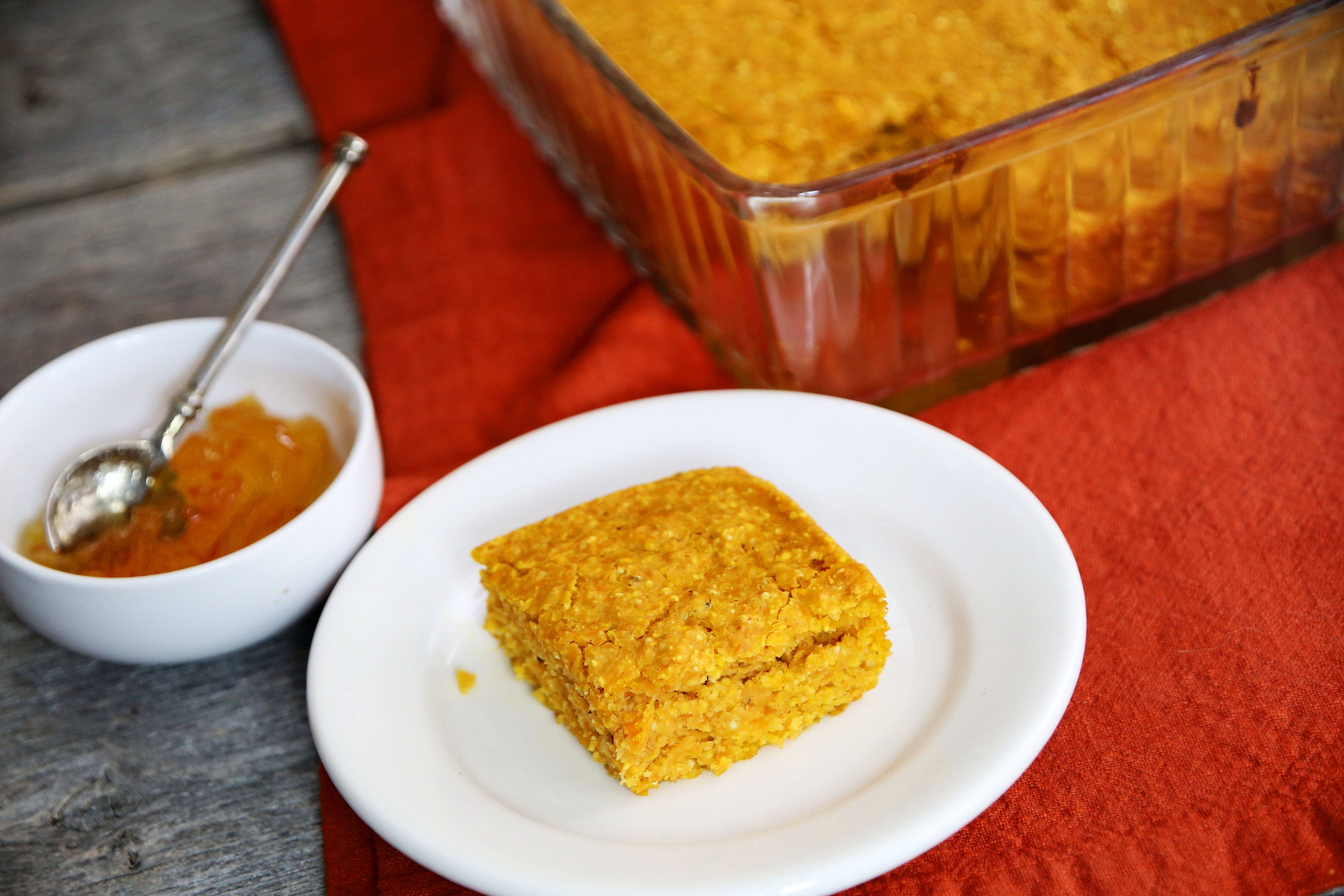Bake Some Kabocha Cornbread to Share
