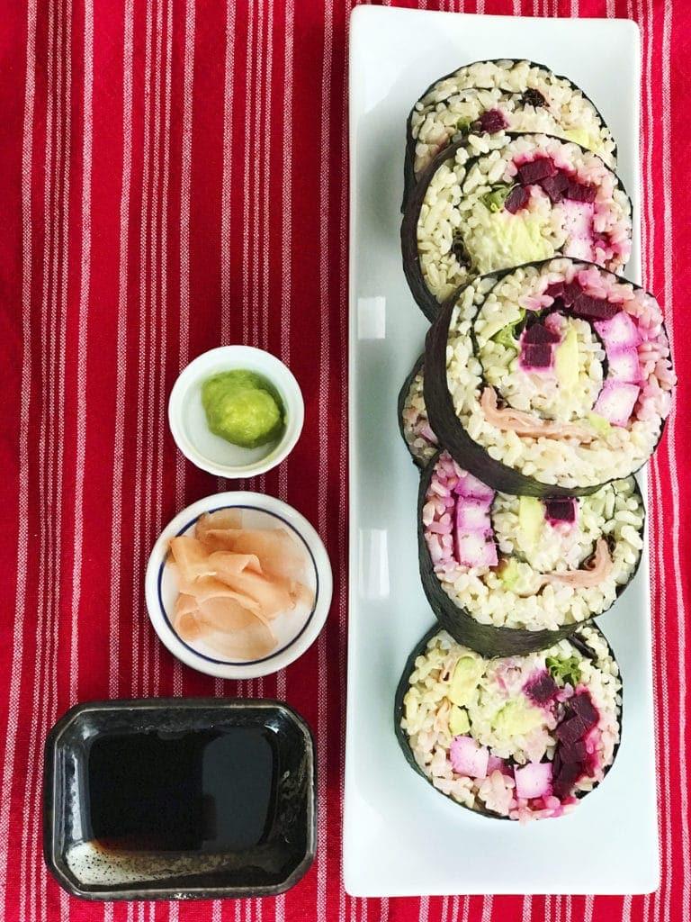 Jumbo Sushi Rolls