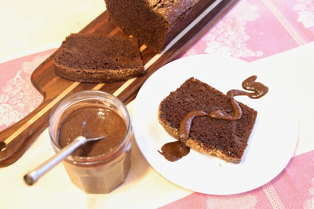 Chocolate Tahini Banana Bread