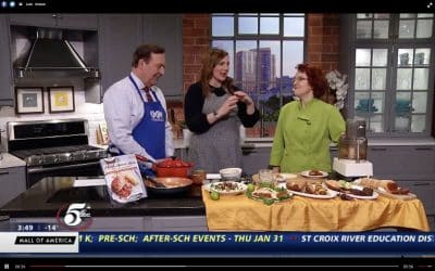 Watch me make Plant Based Meats on twin Cities Live!