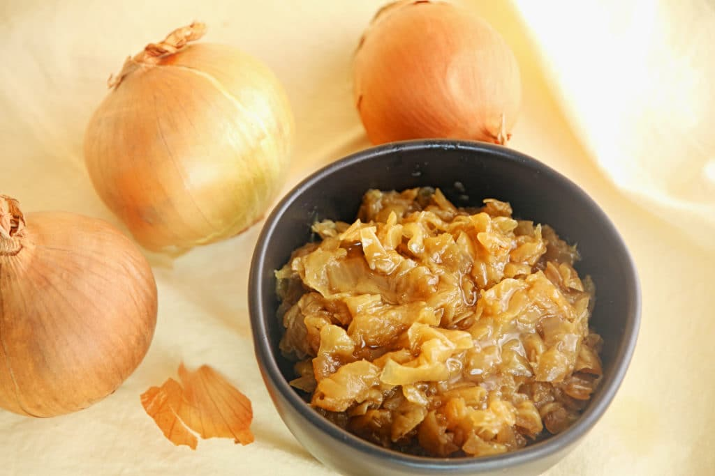 Caramelized onions make meal prepping delicious