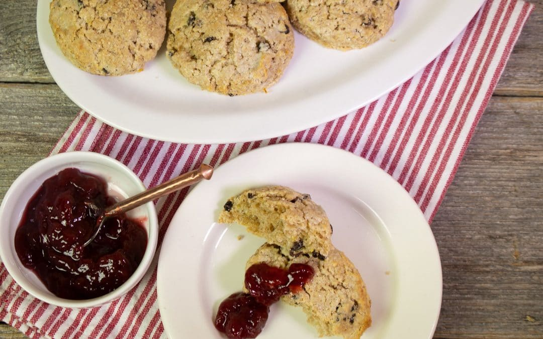 Warm Up with Tasty Scones Made From Freshly Ground Flour