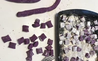 Make Purple Sweet Potato Gnocchi for a Colorful Bowl of Comfort