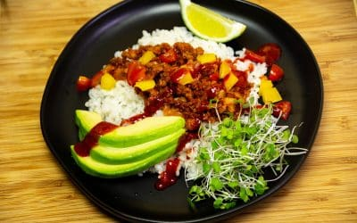 Make Taco Rice for a Japanese-Mexican Bowl