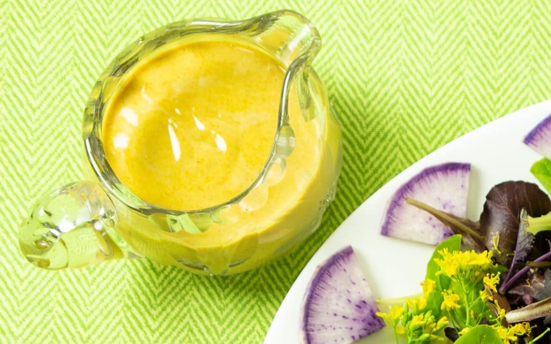 Sesame Turmeric Dressing Prep Makes the Week Easy