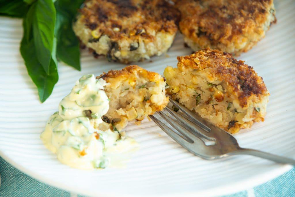 Vegan Sweetcorn Croquettes