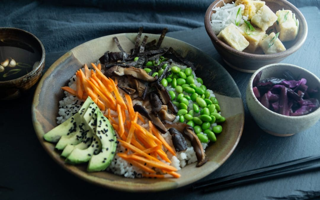 """""""Just Enough"""" Vegan Recipes and Stories from Japan's Buddhist Temples"""