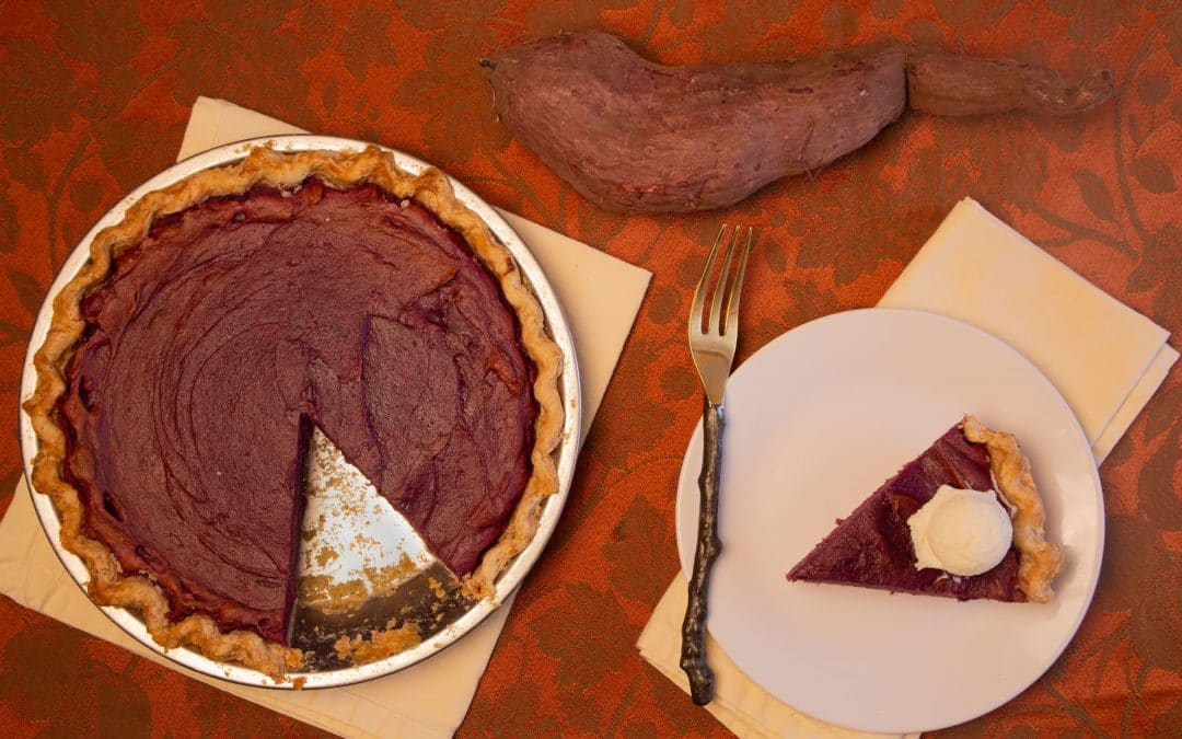 Wow Your Guests with Purple Sweet Potato Pie