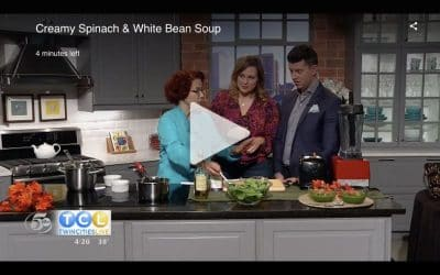 Watch Me Make Speedy Spinach and White Bean Soup on TCL!