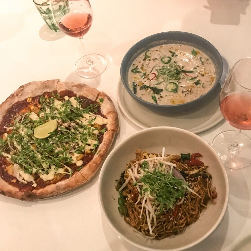 Thatch BBQ Pizza, Coconut Ramen, and Thai Lo Mein