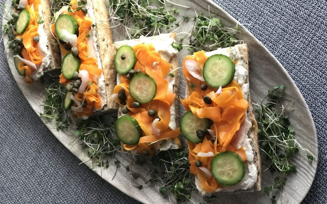 Smoky Carrot Lox Tartine, Make the Easy Home Version