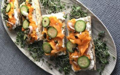 Smoky Carrot Lox Tartine, Make the Easy Home Version