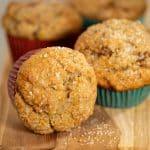 Banana Tahini Muffins by Robin Asbell