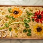 Decorated Focaccia