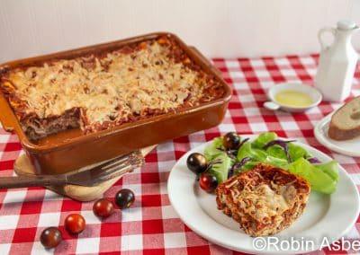 lasagna by Robin Asbell