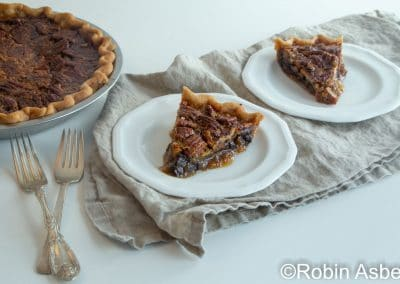 slices of pecan pie by Robin Asbell