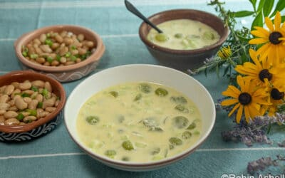 Grape Gazpacho with Elizabeth Ries in Our (Virtual) Kitchens