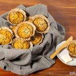 squash and wild rice muffins