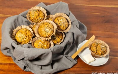 Squash and Wild Rice Make Comforting Muffins