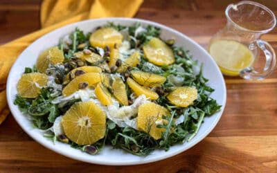 Winter Salad with Oranges and Cava, Holiday Fare!