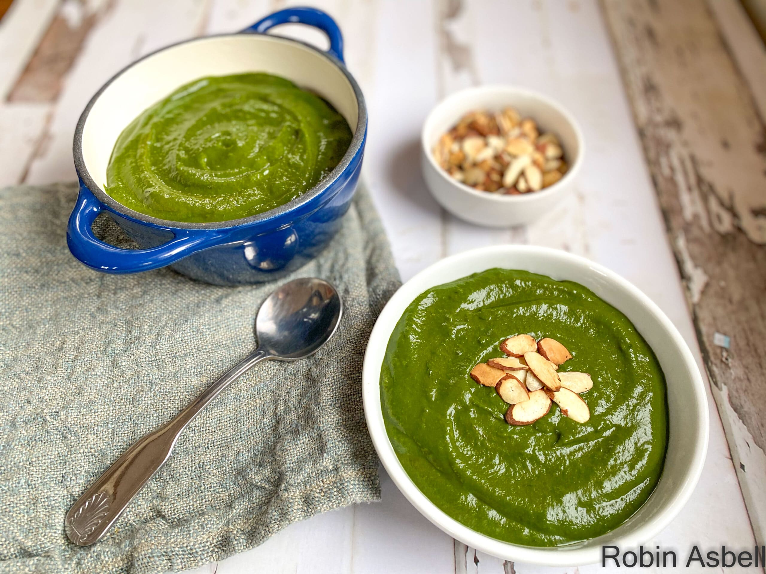 Eat More Leafy Greens with a Big Greens Soup