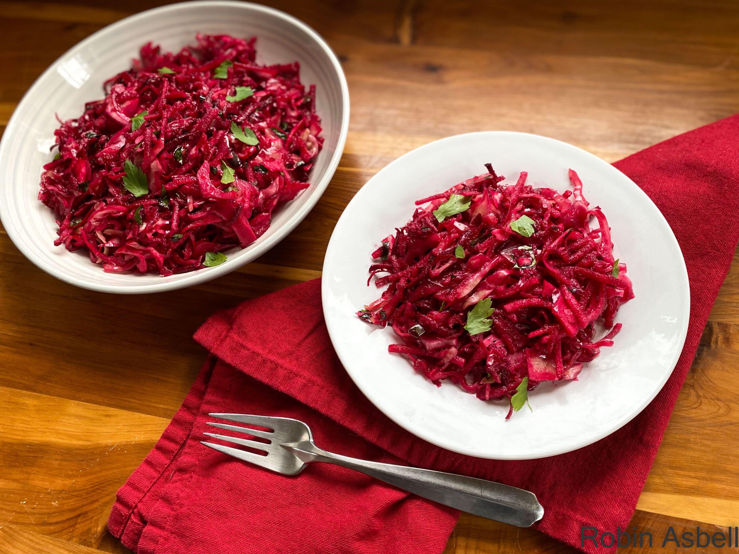Scarlet Shredded Salad