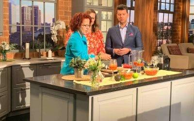Watch Me Make Gazpacho 3 Ways on Twin Cities Live!