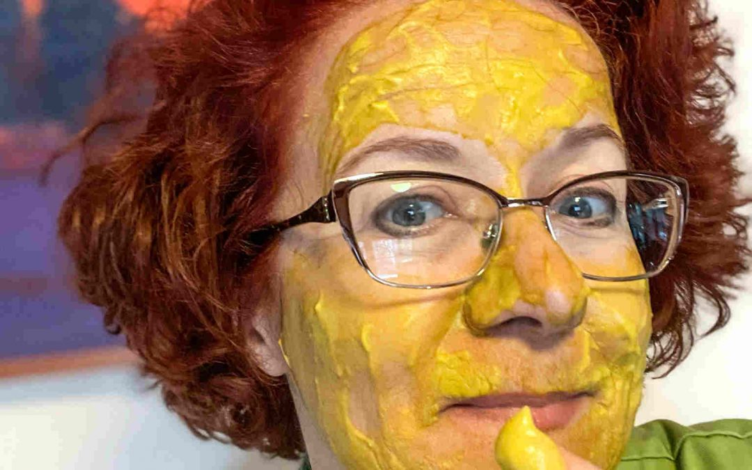Make Your Own Facial, From Food!