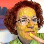 Avocado-Turmeric Facial